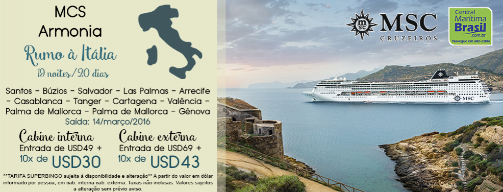 MSC Rumo � It�lia