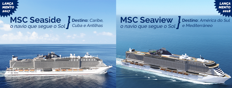 MSC Seaside e MSC Seaview